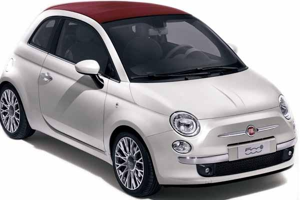 La Savina Rent a Car - Fiat 500 Cabrio