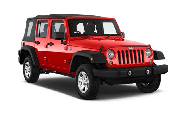 La Savina Rent a Car - Jeep Wrangler Long Body